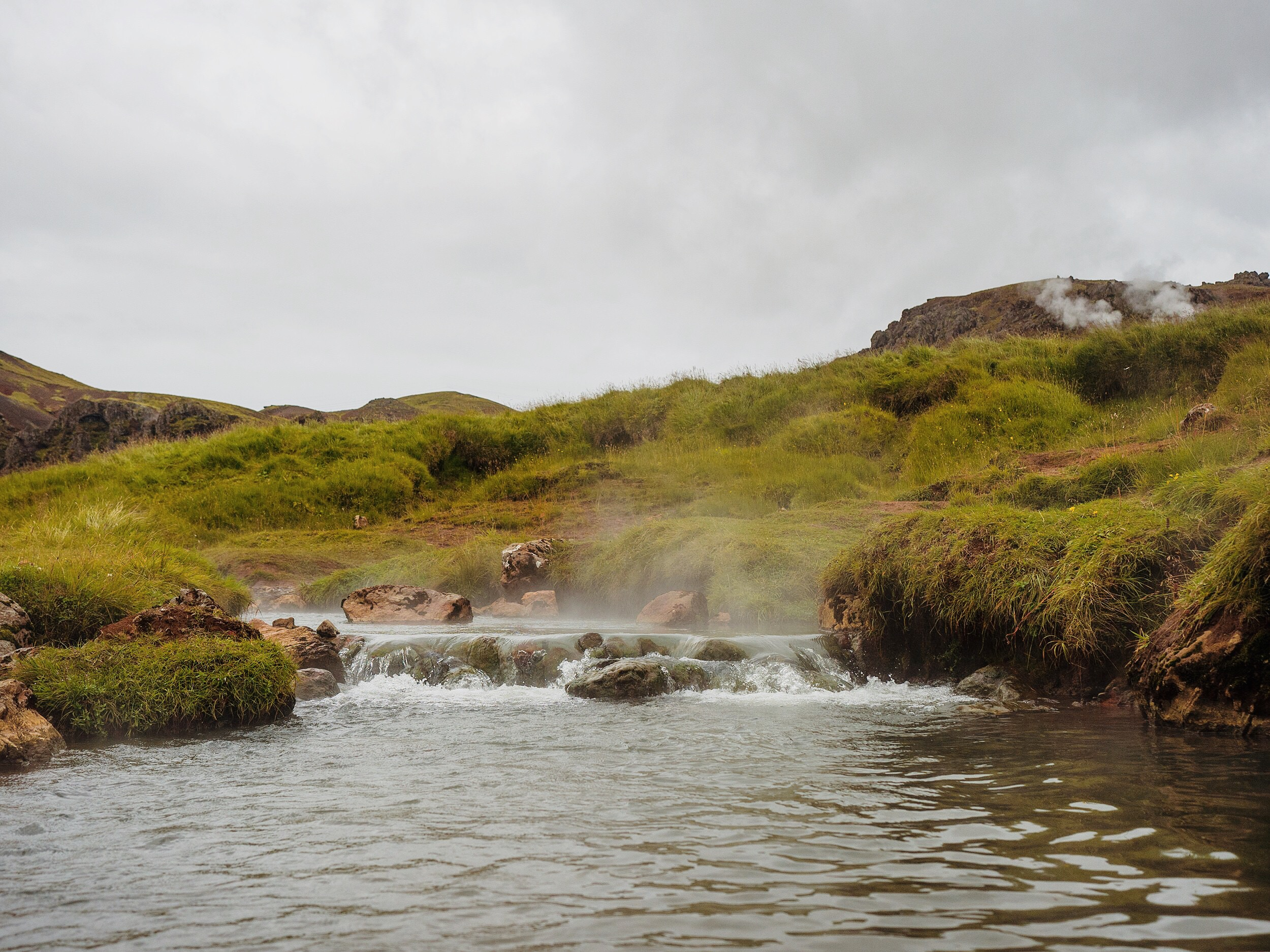 Reykjadalur Hike